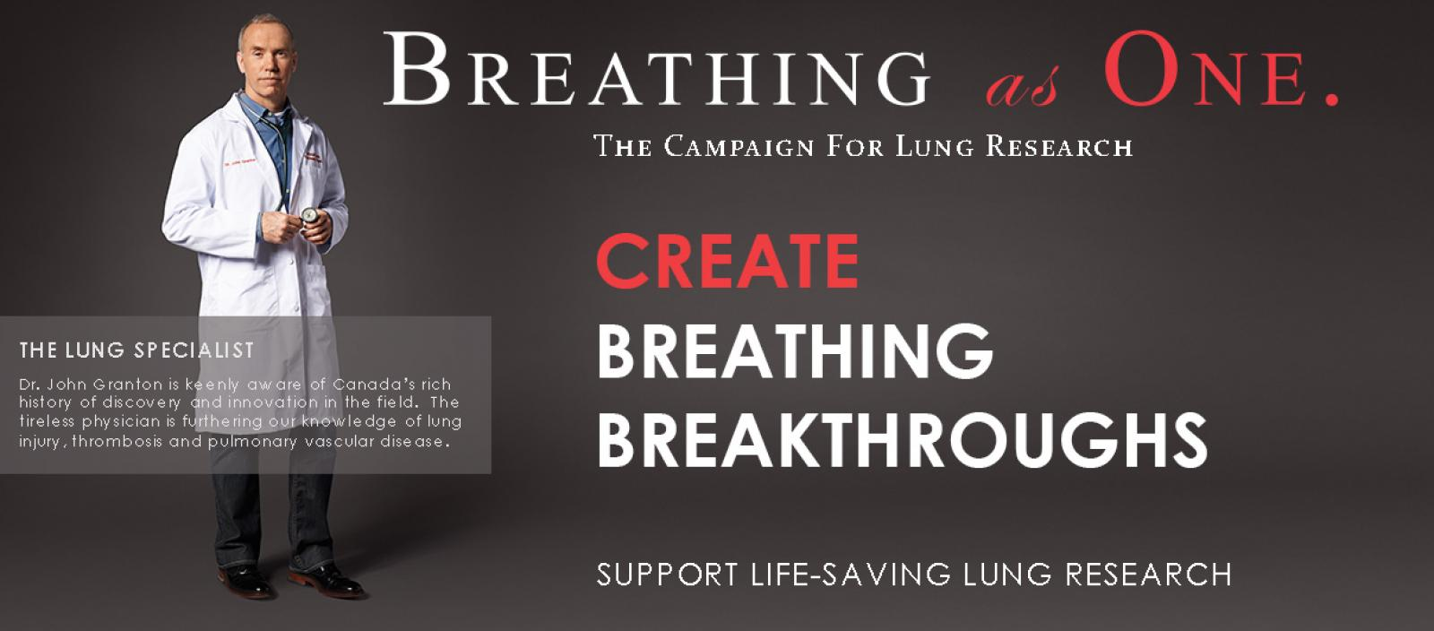 Breathing as One: Create Breathing Breakthroughs.